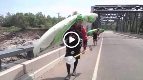 whitewater kayaking video